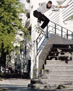 "SOLO Skateboard Magazine (@soloskatemag) sur Instagram: ""@nickboserio - backside 5-0 : @alexbrpires More photos from @polarskateco summer tour on our…"""