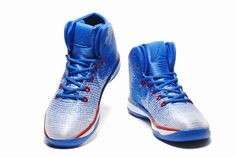 the latest 7daa2 3b913 Air Jordan Mens Basketball Shoes White sapphire blue red, cheap jordan If  you want to look Air Jordan Mens Basketball Shoes White sapphire blue red,  ...