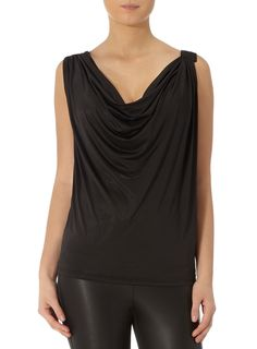 Kardashian black cowlneck top - Shop the full Kollection - Kardashians - Dorothy Perkins