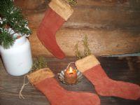 Small Christmas stockings...