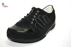 Adele 03492-987, Chaussures à lacets femme - Noir-TR-E1-371, 38 2/3 EUBerkemann