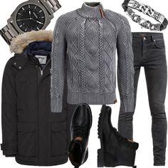 e382ca594a3b Tommy Jeans Jacke TJM TECHNICAL PARKA schwarz Men Outfit für Herren zum  Nachshoppen auf Stylaholic