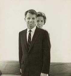 Attorney General Robert F. Kennedy and his wife, Ethel, standing behind him photographed in 1961.  Photo Credit: © Condé Nast Archive/CORBIS/courtesy HBO