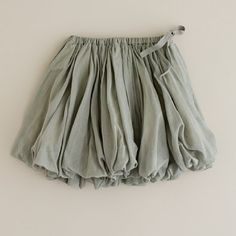 gray bubble skirt