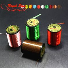 10 Colors Neon Floss Yarn TROUT/BASS/SALMON Shinny Fly Tying Materials Thread Tinsel Wires For Nymphal & Streamer Flies Baits #jewelry, #women, #men, #hats, #watches