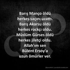 """85 Beğenme, 26 Yorum - Instagram'da Murat Purç (@purcaholic): """"Barış Manço öldü herkes saçını uzattı. Barış Akarsu öldü herkes rockçı oldu. Müslüm Gürses öldü…"""""""