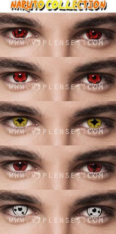 Naurto contact lenses part 1, what is your favourite Madara, Uchiha Sasuke, Naruto Shukaku, Shisui or the White Sharingan, either way they all look good on the eyes.