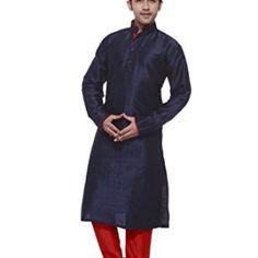 AMORA-Designer-Kurta-Churidhar-SetNavy-Blue-0