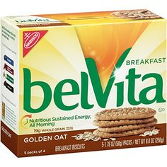 belVita Breakfast Biscuits Golden Oat 88 Ounce Pack of 6 >>> You can find out more details at the link of the image. (This is an affiliate link) #CerealBars