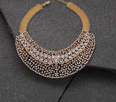 Sterling Two Tone Diamond Pendant Necklace – Fine Diamonds Real Diamond Necklace, Bold Necklace, Diamond Jewelry, Diamond Bracelets, Trendy Jewelry, Modern Jewelry, Jewelry Art, Diamond Dreams, Indian Jewelry Sets