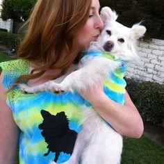 Best Buds Tie-Dye Pet T-shirts