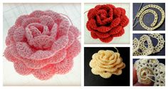 It is not as difficult as it looks to crochet a Beautiful Lace Ribbon Rose. These crochet pretty 3D lace roses would be a fabulous addition.