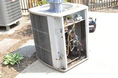 How to install a new heat pump. Detailed tutorial with lots of pix! #home improvement #DIY #one project closer