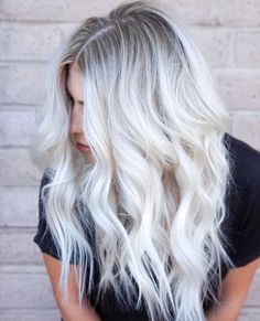 Stunning Types to Elevate Your Platinum Blonde Hair. Platinum blonde hair is widespread as a result of the truth that pure blonde hair could be very Ice Blonde Hair, Platinum Blonde Hair Color, Silver Blonde Hair, Blonde Hair With Highlights, Icy Blonde, Grey Hair, Platinum Blonde Balayage, Bleach Blonde Hair With Roots, Grey Blonde Hair Color