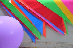 10M Long Flag Garland Pennant Bunting Garden Party Fete & Pub Decoration Multi