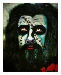 My painting inspired by Rob Zombie