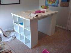 project table | Craft Table | Do It Yourself Home Projects from Ana White