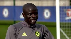 N'Golo Kanté and Eden Hazard have been looking ahead to a big night at the Bridge!