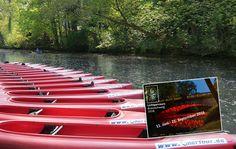 OkerTour: Floss-Events und Bootsverleih, Braunschweig
