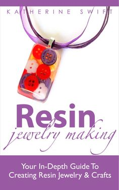E-book Resin Jewelry Making - your guide to creating resin jewelry and crafts - makes a great gift - instant download and product and informatiob