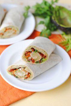 Creamy Avocado and White Bean Wrap | So How's It Taste