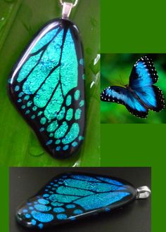 Fused Glass Butterfly Wings From a New User IMG Heavy - GLASS CRAFTS