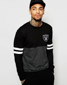 Search for raiders at ASOS. Shop from over styles, including raiders. Discover the latest women's and men's fashion online Sweat Cool, Casual Wear For Men, Camisa Polo, Best Mens Fashion, Hoodie Outfit, Cool Hoodies, Boys T Shirts, Mens Sweatshirts, Raiders