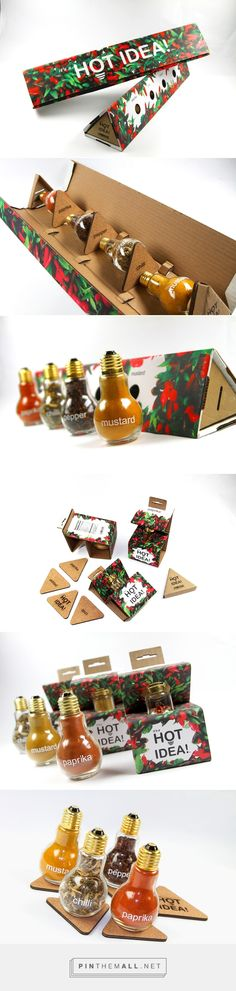 it's a HOT IDEA! Spice Packaging on Behance... - a grouped images picture - Pin Them All