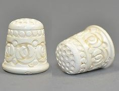 *** MEERSCHAUM TURKISH THIMBLE *** (12/07/2013) Needle Case, Needle Book, Sewing Machine For Sale, Manicure Set, Sewing Stitches, Sewing Tools, Pincushions, Ants, Scissors