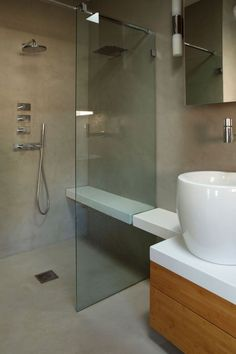 Modern home with Bath Room and Wall Mount Sink. Photo 10 of The Neon ...