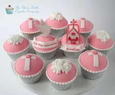 Holy Communion Cupcakes - by CleverLittleCupcake @ CakesDecor.com - cake decorating website