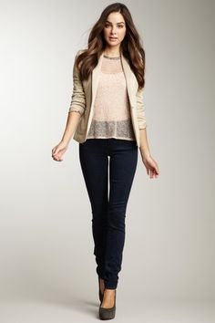 Earnest Sewn Ginger Miranda Highrise Skinny Jean by Denim Obsession on @HauteLook