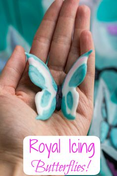 How to make royal icing butterflies! So easy!