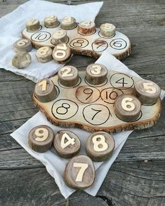 10 Number Cookies & Board by TreebranchKids on Etsy – WoodMAH
