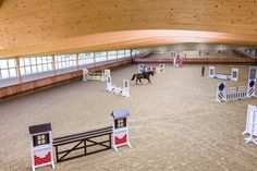 Indoor Riding Arena Envy: Gornall Equestrian - STABLE STYLE Dream Stables, Dream Barn, Equestrian Stables, Horse Arena, Farm Layout, Indoor Arena, Horse Stalls, Show Jumping, Horse Farms