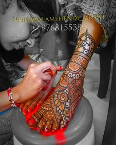 Image may contain: one or more people and text - Henna Designs - Henna Designs Hand Henna Hand Designs, Mehndi Designs Finger, Wedding Henna Designs, Engagement Mehndi Designs, Latest Bridal Mehndi Designs, Mehndi Designs 2018, Mehndi Designs For Girls, Dulhan Mehndi Designs, Mehandi Designs