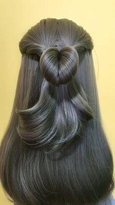 Work Hairstyles, Easy Hairstyles For Long Hair, Box Braids Hairstyles, Hair Dye Shades, Hair Upstyles, Hair Videos, Hair Hacks, Short Hair Styles, Hair Beauty