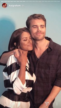 Kat Graham and Paul Wesley reunited at San Diego 2018 at Andaz San Diego on July 2018 in San Diego, California. Serie The Vampire Diaries, The Vampires Diaries, Paul Wesley Vampire Diaries, Damon Salvatore Vampire Diaries, Vampire Diaries Poster, Vampire Diaries Seasons, Vampire Diaries Wallpaper, Vampire Diaries Funny, Vampire Diaries The Originals