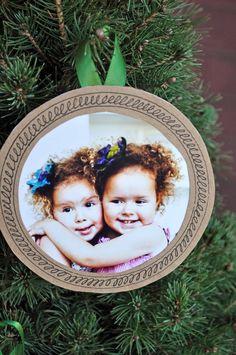 Paper Bag Photo Ornament