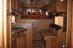 4ft short wall living quarters | ... .00) 2012 - Featherlite Living Quarters Horse Trailer | Equine RV