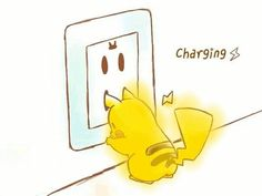How Pikachu charges ! the wall doesn't charge pikachu, pikachu charges the wall Pikachu Pikachu, Pikachu Mignon, Pichu Pokemon, My Pokemon, Pokemon Stuff, Pokemon Ring, Pikachu Funny, Pokemon Memes, Photo Pokémon
