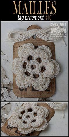 ISA'sART: MAILLES - Tags et crochet (2)