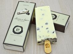 Picolé Oreo Cheesecake Packaging Ice Cream Design Packaging Design Popsicle