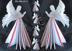 Image result for 3d christmas angel template