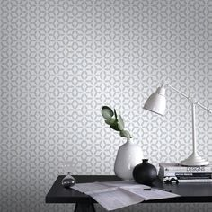 Give your living room a classic look with the addition of this Graham and Brown Symmetry Helice Silver Removable Wallpaper Sample. Geometric Wallpaper Silver, Brown Wallpaper, Of Wallpaper, Pattern Wallpaper, Space Furniture, Home Furniture, Furniture Design, Graham Brown, Ideas