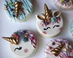 Fancy Unicorn Oreos - Chocolate covered Unicorn Oreos