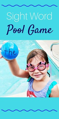 We have to work on sight words a lot with our kindergartner, so I have to find exciting and fun ways to practice with her. This sight word pool game was a big hit! Check out how to do it here.