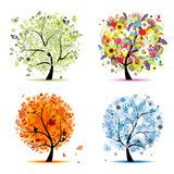 Four Season Tree Decoration - Download From Over 56 Million High Quality Stock Photos, Images, Vectors. Sign up for FREE today. Image: 20808629