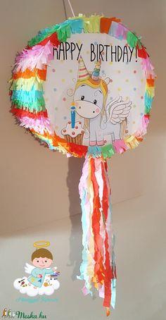 Piñata fényképpel (mangyal0403) - Meska.hu Birthday, Diy, Birthdays, Bricolage, Diys, Handyman Projects, Do It Yourself, Birth Day, Crafting