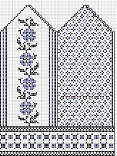 Most up-to-date Absolutely Free knitting charts flower Tips Beautiful knitted mittens pattern Knitted Mittens Pattern, Fair Isle Knitting Patterns, Crochet Mittens, Crochet Gloves, Knitting Charts, Knitting Stitches, Knitting Socks, Hand Knitting, Fingerless Mittens